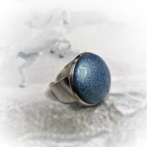 """UNKORNIS Türkiz kerámia gyűrű , Ékszer, Táska, Divat & Szépség, Gyűrű, Ékszerkészítés, Kerámia, Szereted a szivárvány varázslatos színeit? Jó helyen jársz! \n\""""Unikornis kollekció\"""" része ez a elegán..., Meska"""