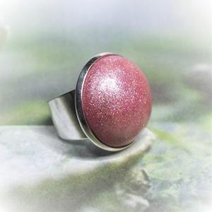 """UNKORNIS korallrózsaszín kerámia gyűrű , Ékszer, Táska, Divat & Szépség, Gyűrű, Ékszerkészítés, Kerámia, Szereted a szivárvány varázslatos színeit? Jó helyen jársz! \n\""""Unikornis kollekció\"""" része ez a elegán..., Meska"""