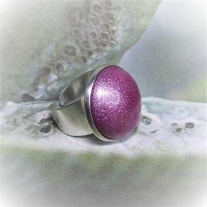 """UNIKORNIS lila kerámia gyűrű - Ajándék lányoknak nőknek névnapra születésnapra, Ékszer, Gyűrű, Kerek gyűrű, Szereted a szivárvány varázslatos színeit? Jó helyen jársz!  """"Unikornis kollekció"""" része ez a elegán..., Meska"""