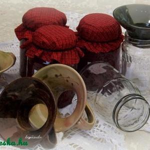 tölcsér lekvár befőzéshez (keramiko) - Meska.hu