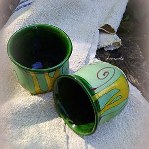 kaspó  (keramiko) - Meska.hu