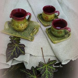 Kávés bögrék párban (keramiko) - Meska.hu