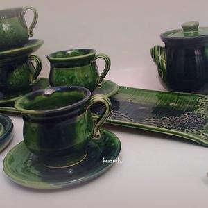 kávés ünnepi szett  (keramiko) - Meska.hu