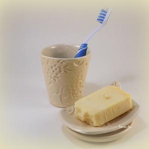 Szappantartó fogmosó pohárral (keramiko) - Meska.hu