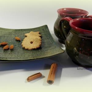 Bögrepáros süti tálcával (keramiko) - Meska.hu