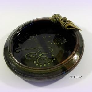 madaras tál (keramiko) - Meska.hu