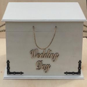 Nászajándék,lakás dekorációs  tároló láda, Esküvő, Nászajándék, Esküvői dekoráció, Otthon & lakás, Dekoráció, Famegmunkálás, Nászajándék tároló láda ,mely egyedi igények szerint készül.De akár a lakás dísze is lehet színtől f..., Meska