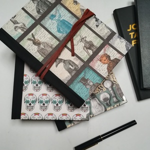 Scetchbook- színes lapokkal egyedi borítóval, Jegyzetfüzet & Napló, Papír írószer, Otthon & Lakás, Könyvkötés, A napló kézi kötéssel készül egyedi rendelés alapján. A belső lapok 130gr -os tónuspapírból állnak, ..., Meska
