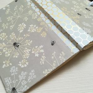 Méhek- napló, Otthon & Lakás, Jegyzetfüzet & Napló, Papír írószer, Könyvkötés, Meska