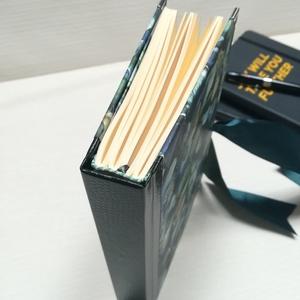Hortenziák napló, csontszínű lapokkal., Otthon & Lakás, Papír írószer, Jegyzetfüzet & Napló, Könyvkötés, A napló kézi kötéssel készült, papír borítással, ezüst könyvsarkokkal. A belső lapok 80gr- os csonts..., Meska