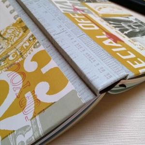 Inventor- Egyedi napló Feltalálóknak, Jegyzetfüzet & Napló, Papír írószer, Otthon & Lakás, Könyvkötés, A napló kézi kötéssel készült, papír borítással A belső lapok 80gr- os színesek, a napló 320 oldal t..., Meska