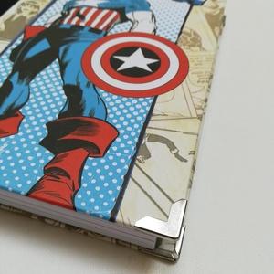 Marvel szuperhősök napló, Otthon & Lakás, Papír írószer, Jegyzetfüzet & Napló, Könyvkötés, Meska