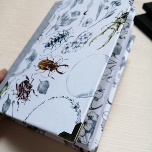Bogaras  napló- Egyedi napló , Otthon & Lakás, Papír írószer, Jegyzetfüzet & Napló, Könyvkötés, Meska
