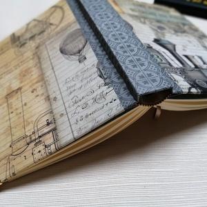 Locomotiv. Egyedi napló férfiaknak, Otthon & Lakás, Papír írószer, Jegyzetfüzet & Napló, Könyvkötés, Meska