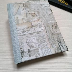 Steampunk Journal. Egyedi napló férfiaknak, Otthon & Lakás, Papír írószer, Jegyzetfüzet & Napló, Könyvkötés, Meska