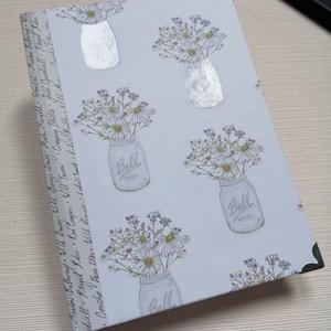 Kamilla - Egyedi napló, Otthon & Lakás, Papír írószer, Jegyzetfüzet & Napló, Könyvkötés, Meska