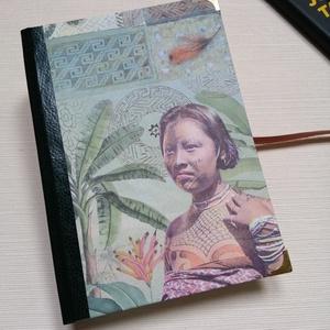Amazonas Tribe - Egyedi napló - otthon & lakás - papír írószer - jegyzetfüzet & napló - Meska.hu