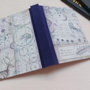 Wolf Spirit- egyedi napló, Otthon & Lakás, Papír írószer, Jegyzetfüzet & Napló, Könyvkötés, Meska