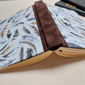 Tollak bőrszalagos napló, Otthon & Lakás, Papír írószer, Jegyzetfüzet & Napló, Könyvkötés, Meska