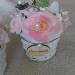 Virágbox minden alkalomra, Ballagás, Ünnepi dekoráció, Dekoráció, Otthon & lakás, Virágkötés, Ha egyedi ajándékot keresel akár ballagásra,pedagógus napra, születésnapra,akkor ebben a dekorációba..., Meska