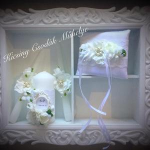 Virág álomesküvői  szett , Esküvői szett, Esküvő, Gyurma, \nVálassz nem mindennapi kiegészítőket, hiszen az esküvőtök alkalmából igenis megérdemlitek a különle..., Meska