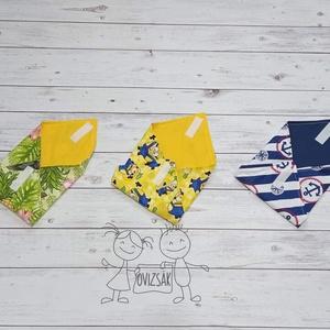 Textil szavéta / újraszalvéta, többféle minta, Táska & Tok, Ovi- és sulikezdés, Uzsonna- & Ebéd tartó, Szendvics csomagoló, Varrás, Meska
