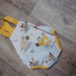Babanapozóka, kutyusos, kiskutyás, kutyás, Ruha & Divat, Babaruha & Gyerekruha, Varrás, 56-62-es méret.1-2 hónapos babára ajánlom! Kutyus mintás textilből készült. Beavatva az anyag. Méret..., Meska