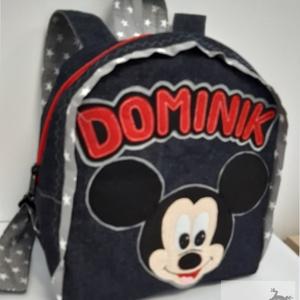 Mickey egeres Hátizsák , Játék & Gyerek, Ovis zsák & Ovis szett, Ovis hátizsák, Varrás, Mickey egér mintás hátizsák\n\nÓvodás, bölcsődés gyerekek részére.\n\nFarmer hátizsák, pamut béléssel, f..., Meska