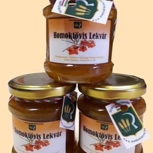 Homoktövis lekvár, Lekvár, Élelmiszer, Élelmiszer előállítás, Homoktövis bogyóból készített dzsem, amely alkalmas sütemények, édességek ízesítésére, de önmagában ..., Meska