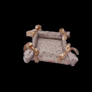 Kenyértartó kosár, Tárolókosár, Tárolás & Rendszerezés, Otthon & Lakás, Varrás, Egyedi, textilből készült, ízléses kenyértartó kosár. Változatos színekben és mintázattal. Anyaga te..., Meska