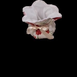 Textil bonbon tartó, Konyhai dísz, Konyhafelszerelés, Otthon & Lakás, Varrás, Textilből készült, egyedi kézműves termék, bonbonok vagy esetleg ajándékok tárolására. Változatos sz..., Meska