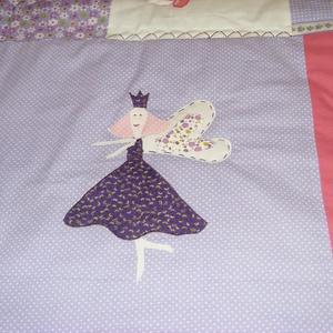 Tündéres patchwork takaró, falvédőnek is alkalmas (kincsesmomka) - Meska.hu