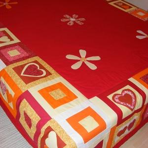 patchwork ágytakaró,  - Meska.hu