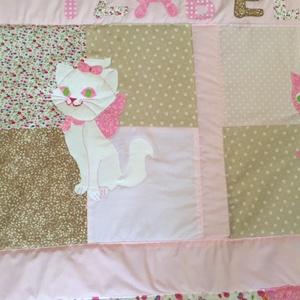 Cicás patchwork takaró, sok cica (kincsesmomka) - Meska.hu