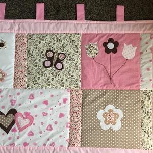 patchwork  takaró, falvédő  (kincsesmomka) - Meska.hu