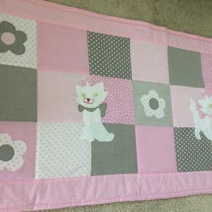 Cicás patchwork takaró,  (kincsesmomka) - Meska.hu
