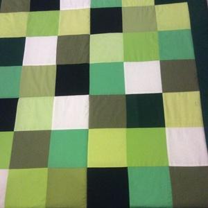 patchwork takaró, favedő Minecraft színekkel  (kincsesmomka) - Meska.hu