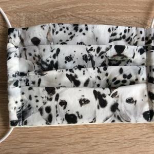 Dalmata kutyus mintás szájmaszk (kincsesmomka) - Meska.hu