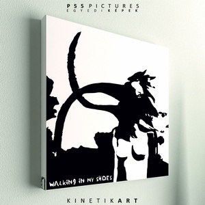 kép: Depeche Mode: Walking in my shoes - No.1, Otthon & lakás, Dekoráció, Kép, Képzőművészet, Grafika, P55 - demoWmS1   depeche mode: walking in my shoes No.1   P55 pictures: Akril felületű faforgácslapr..., Meska