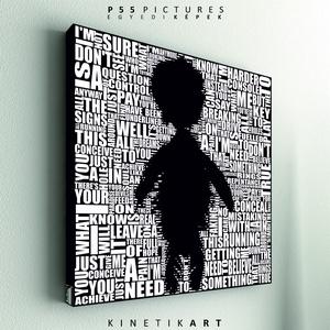kép: Depeche Mode: Pain that I\'m used to, Otthon & lakás, Dekoráció, Kép, Képzőművészet, Grafika, P55 - demoPAIN  depeche mode: Pain that I\'m used to   P55 pictures: Akril felületű faforgácslapra, ..., Meska