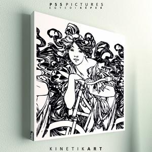 kép: Cycle Perfecta  [Alfons Mucha], Dekoráció, Otthon & lakás, Kép, Képzőművészet, Grafika, Fotó, grafika, rajz, illusztráció, Mindenmás, P55 cyclCYPE\n\nAlfons Mucha: Cycles Perfecta képe alapján\n\n\nP55 pictures:\nAkril felületű faforgácslap..., Meska
