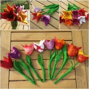 Nemez tulipán (Kingarts) - Meska.hu