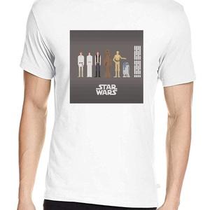 Star Wars póló, Pixel art póló, Egyedi póló, Férfiaknak, Urban pólók, Táska, Divat & Szépség, Ruha, divat, Férfi ruha, Női ruha, Póló, felsőrész, Fotó, grafika, rajz, illusztráció, A póló az eredeti Star Wars trilógia szereplőit mutatja be.\nA letisztult, általam tervezett pixel ar..., Meska