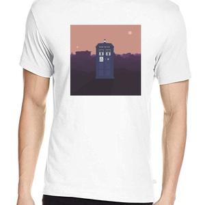 Doctor Who póló, Pixel art póló, Egyedi póló, Férfiaknak, Urban pólók, Táska, Divat & Szépség, Ruha, divat, Férfi ruha, Női ruha, Póló, felsőrész, Fotó, grafika, rajz, illusztráció, A pólón a legendás brit sci-fi sorozat időgépe, amely bárhova eljut térben és időben.\n100% pamut pól..., Meska