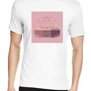 Grand Budapest Hotel póló, Pixel art póló, Egyedi póló, Férfiaknak, Urban pólók, Táska, Divat & Szépség, Ruha, divat, Férfi ruha, Női ruha, Póló, felsőrész, Fotó, grafika, rajz, illusztráció, A mintán Wes Anderson leghíresebb filmje: A Grand Budapest Hotel.\nA letisztult, általam tervezett pi..., Meska
