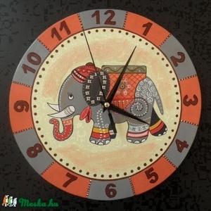 Elefántos falióra (Kiokumitsu) - Meska.hu
