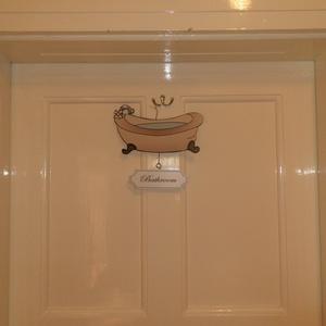 Fürdőszoba tábla (Kiokumitsu) - Meska.hu