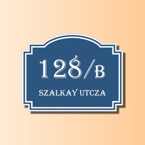 Házszámtábla - díszes (Kiokumitsu) - Meska.hu