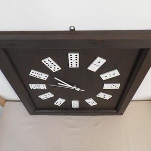 Nagy méretű dominós falióra (Kiokumitsu) - Meska.hu