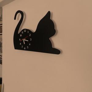 Macskás falióra (Kiokumitsu) - Meska.hu